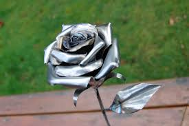 metal roses stainless steel from scrap metal 5 steps with pictures