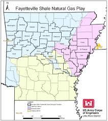 Fayetteville Ar Map Little Rock District U003e Missions U003e Regulatory U003e Fayetteville Shale