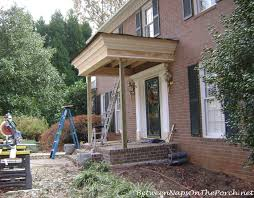 Framing A Hip Roof Porch How Much Does It Cost To Build Or Add On A Front Porch