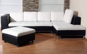 living room elegant corner white leather sofa design ideas for