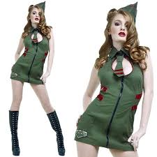 1940s Halloween Costume 50 Lip Service Dresses U0026 Skirts Major Mayhem 1940s Army Pin