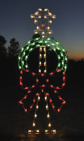 large collection of outdoor christmas light displays