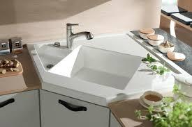 vasque cuisine poser evier rectangulaire cuisine cuisine sur mesure un acvier a poser