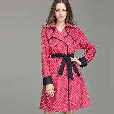 Arizona women s travel clothing images New floral long raincoat women ladies rain coat 2016 women 39 s jpg