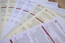 Resume Paper Weight Resume Paper Comparison Resume Genius