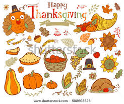 thanksgiving elements free vector free vector