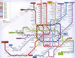 Map Of Shanghai Finally A Decent Subway Map Of Shanghai Gullible U0027s Travels