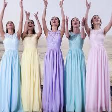 light blue bridesmaid dresses yellow light blue purple sky blue bridesmaid dresses vestido