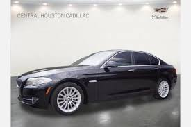 bmw 5 series for sale used used bmw 5 series for sale in houston tx edmunds