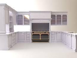 Model Kitchen Kitchen Cabinets Appliances 3d Cgtrader