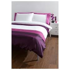 Tesco Bedding Duvet Buy Tesco Cosmo Kingsize Size Duvet Cover Set Purple From Our