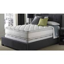 Serta Bed Frame Queen Serta Perfect Sleeper Sapphire Suite Double Sided Pillowtop