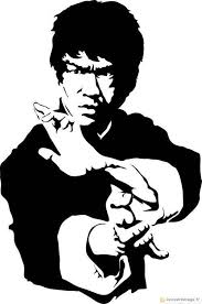 actor clipart bruce lee pencil and in color actor clipart bruce lee