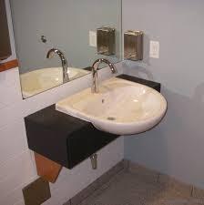 concrete ada compliant bathroom sink contemporary bathroom