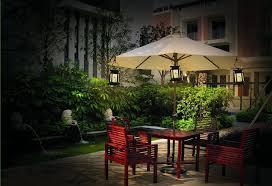 Patio Umbrella Lighting Outdoor Umbrella Lights Landscaping Backyards Ideas Special