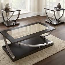 Coffee Table Set Pacifica 3 Piece Occasional Table Set