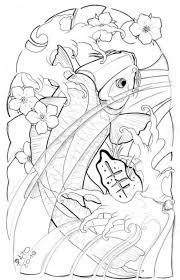 koi fish half sleeve designs cool images half sleeve