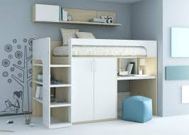 lit surélevé avec bureau lit mezzanine avec rangement lit mezzanine rangement lit enfant