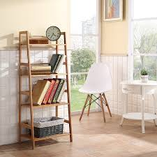 ladder bookcases amazon com