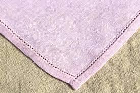 pale pink table cover linen placemats and napkins vintage pure linen napkins set w