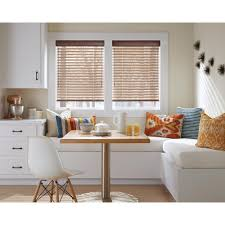home decorators collection white 2 1 2 in premium faux wood blind