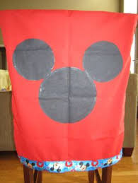 mickey mouse chair covers mickey mouse kids chair cover for rent mickeymouse partydecor