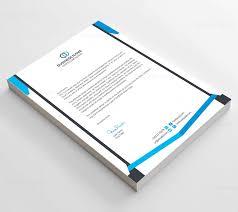 clean corporate letterhead template template catalog