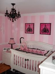 Best Pink And Black Images On Pinterest Babies Nursery - Girls bedroom ideas pink and black