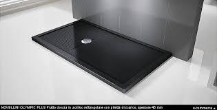 piatto doccia rettangolare 70 x 80 grandi dimensioni per i piatti doccia arredobagno news