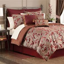 valentina paisley claret comforter bedding by croscill