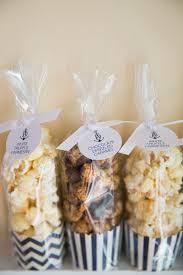 Garretts Popcorn Wedding Favors by Gourmet Popcorn Wedding Favors Striped Container Inside