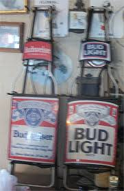 bud light for sale old neon and tin beer signs for sale antiques com classifieds