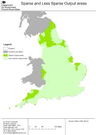 York England Map by Maps Of Rural Areas In England Census 2001 Gov Uk
