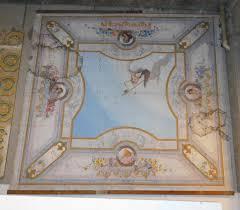soffitti dipinti darb133 soffitto dipinto carta su tela napoli 800 m 540 x 505