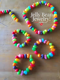 edible candy jewelry jelly bean jewelry edible crafts easter and