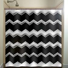 Gray Chevron Shower Curtain Best Black And White Chevron Shower Curtain Products On Wanelo