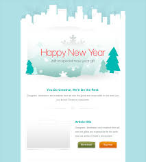 this holiday and christmas email template offers a responsive