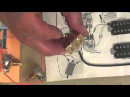 number 4 video how to wire up a chinese guitar 2 humbuckers 2 vol