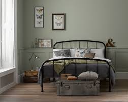 Iron Frame Beds by Dreams Westbrook Classic Black Metal Bed Frame Dreams