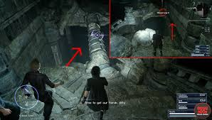 Pitioss Ffxv How To Reach Secret Dungeon Pitioss With Regalia Type F