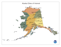 Maps Alaska by National Climate Report February 2015 Alaska Reference Maps