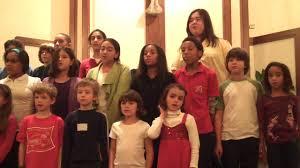 bahai children at the chappaqua interfaith council thanksgiving