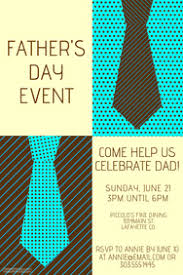father u0027s day poster templates postermywall