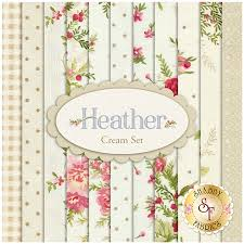 heather 11 fq set cream set by jennifer bosworth for maywood studio