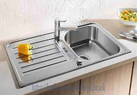 Lantos Stainless Steel Kitchen Sinks BLANCO Lantos S Stainless - Kitchen sinks blanco