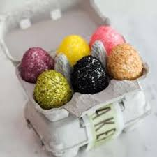Easter Egg Decorating Rice by Bouchon Bakery U0027s Rice Krispie Easter Eggs From The Kitchn
