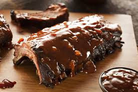 calories in bbq ribs livestrong com