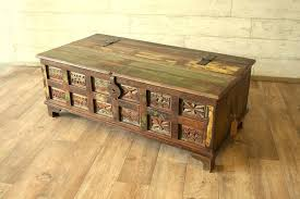 Rustic Chest Coffee Table Rustic Trunk Coffee Table Fabrizio Design Wonderful Rustic