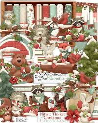 christmas collections fqb nitwit thicket christmas collection nitwit digital kits