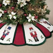 quilted nutcracker tree skirt crafts